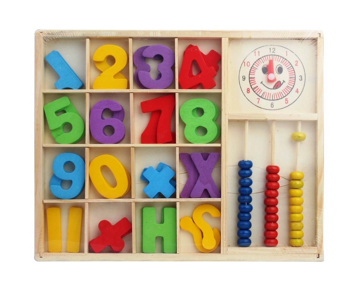 Nouveau Montessori mathématiques coloré